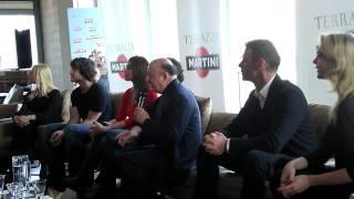 Matrimonio a Parigi: Boldi, Siffredi e il cast in conferenza stampa (1)