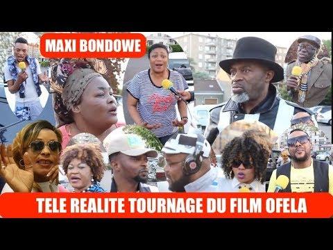 TELE REALITE , LES ARTISTES COMEDIENS DE L'EUROPE EN TOURNAGE DU FILM OFELA