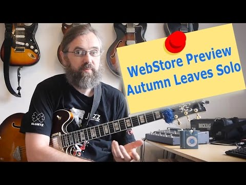WebStore Preview -  Autumn Leaves Solo