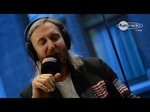 David Guetta en interview à Amsterdam