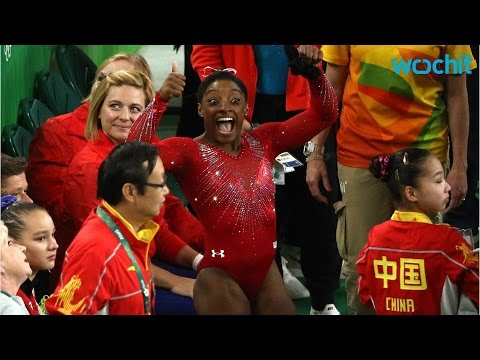 Zac Efron Makes Simone Biles