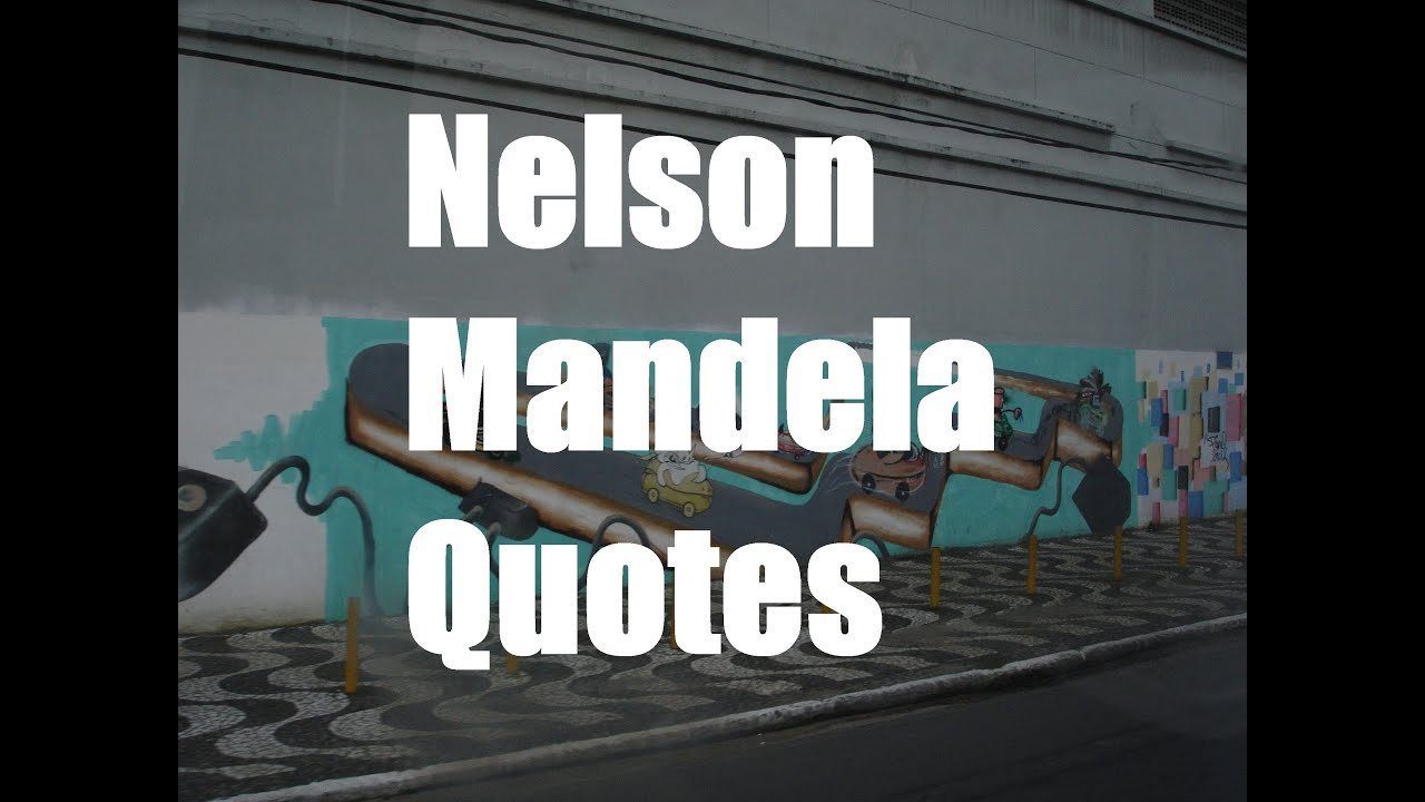 Inspiring Quotes On Life And Success Nelson Mandela  Top 5 Quotes  Famous Inspirational Quotes About