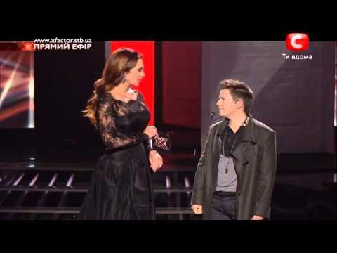 05 Евгений Литвинкович - Холодно X Factor 5 эфир