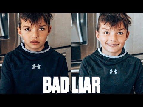 HE'S A BAD LIAR 🤥