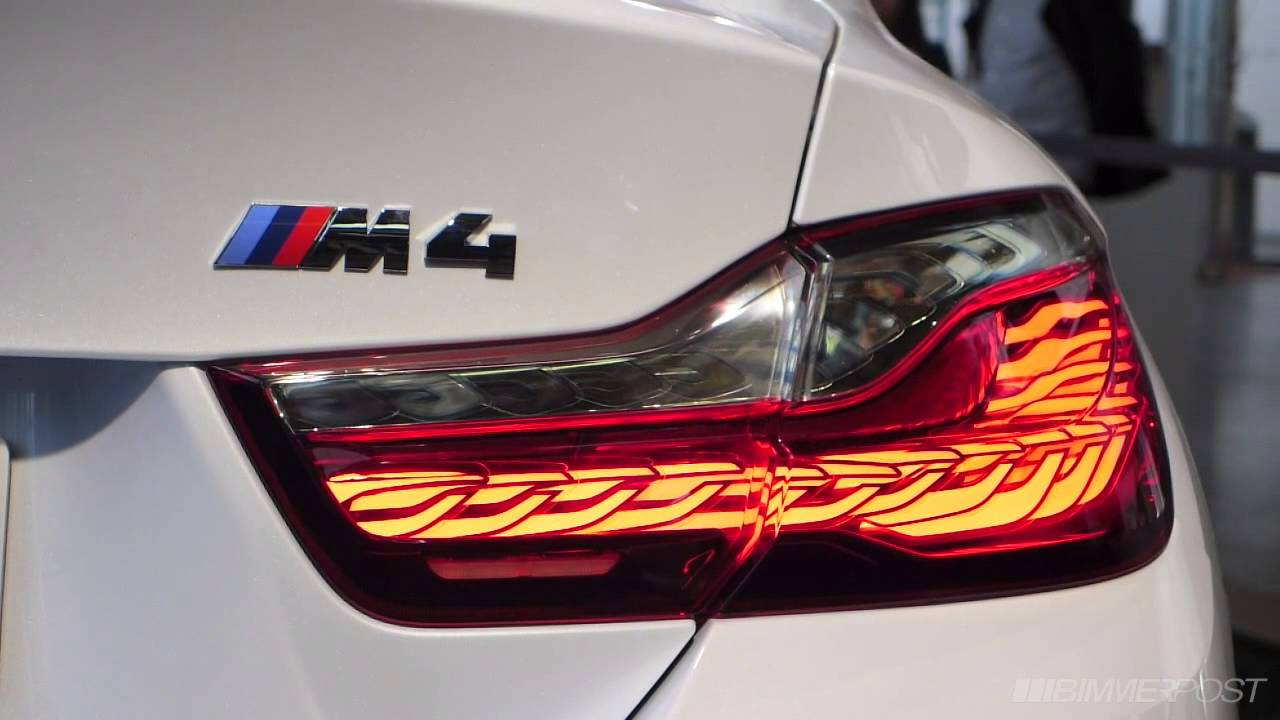 BMW M4 Iconic Light Concept at BMW Welt - YouTube