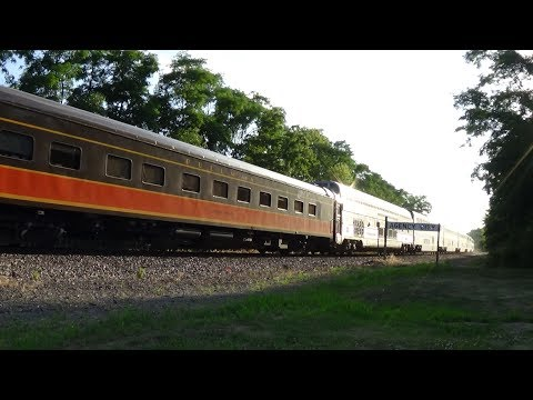 Thumbnail: Iowa Pacific Full Dome and Sleeper on Amtrak #5