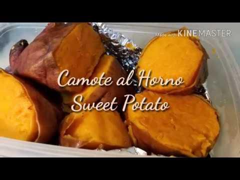 Camote al Horno sin azúcar, sin piloncillo/ Sweet Potato 🍠 FÁCIL DE COCINAR!