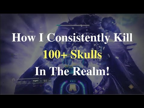 How I Consistently Kill 100+ Skulls In The Realm (Leviathan Raid - x100 Force of Will)
