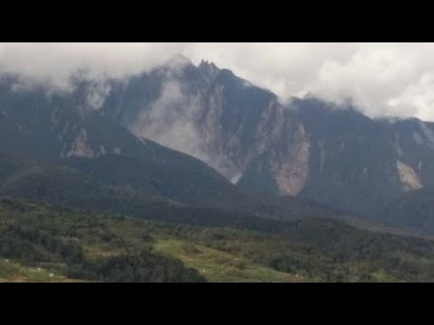 Part of Mount Kinabalu collapses after continuous rain