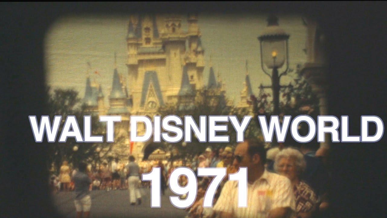 magic kingdom tour walt disney world 1971 8mm film youtube