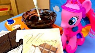 Варим ШОКОЛАД! Школа Три Кита! Познавательное видео для детей!(Шоколад!) Что может быть вкуснее! Школа