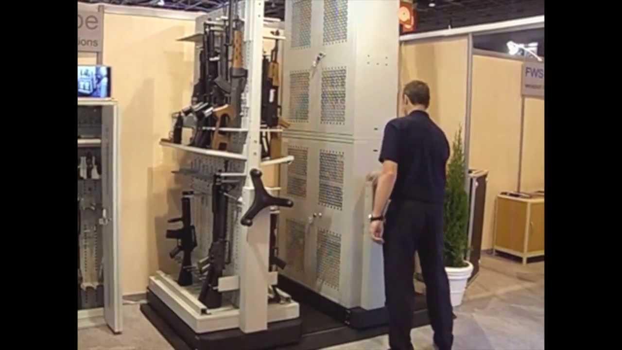Armrios para Armazenamento de Armas  OFC Arquivos e