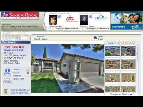 Milpitas Homes For Sale – 1040 Big Bear Court