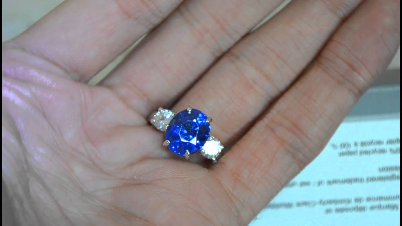 color sapphire middleton zirconia flower earrings cubic cz jewelry kate crown bling blue oval stud