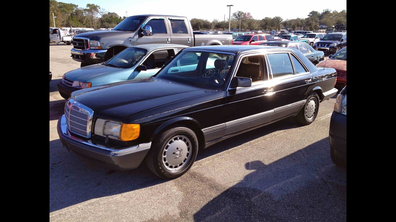1991 mercedes benz 560sel w126 start up rev with exhaust for 1991 mercedes benz 560sel