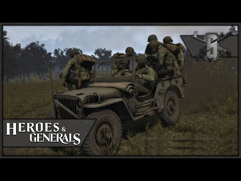 Roadkill Viewer Challenge! - Heroes and Generals - US Driver Gameplay 1440p60