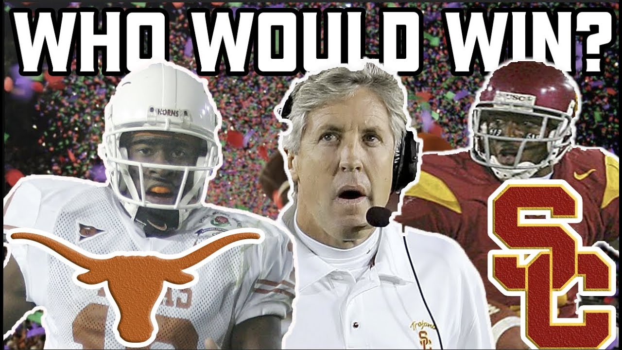 Who would win a 2006 Rose Bowl REMATCH?
