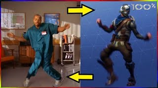 Fortnite All Dances   In Real Life   WOW