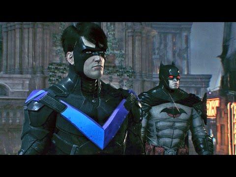 Batman Arkham Knight #08: Jogando com o Asa Noturna, Pinguim e Vagalume  - PS4 Gameplay