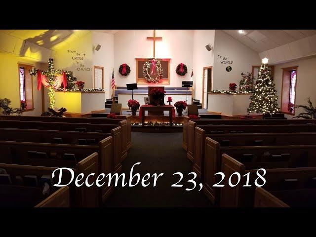 Christmas Candlelight Message