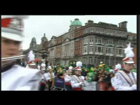 St. Patrick's day parade, Dublin, Ireland, March 2013,
