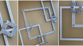 2019 Wall Art Using Picture Frames | Easy Diy | Wall Decor | Home Decor | Room Decor | Chymarie
