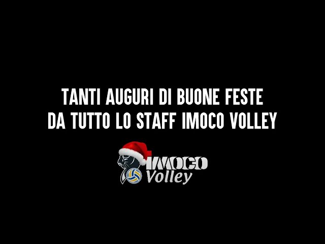 Buon Natale 2020 - Staff Imoco Volley