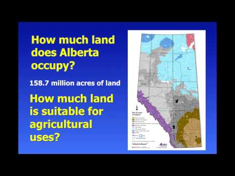 Dr. Ross McKenzie: Soil Science in Alberta, History and Direction, Part 1