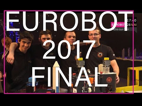 Eurobot 2017 - Final day HD