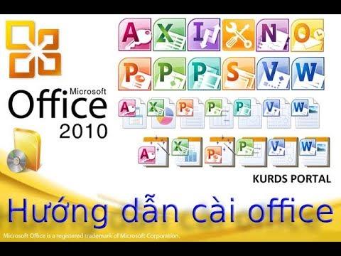 Trung Kiên   [Tin] Hướng dẫn cài đặt Office 2010 Full crack -Link Drive