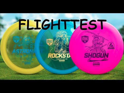 Discmania - Shogun, Rockstar & Astronaut FLIGHTTEST