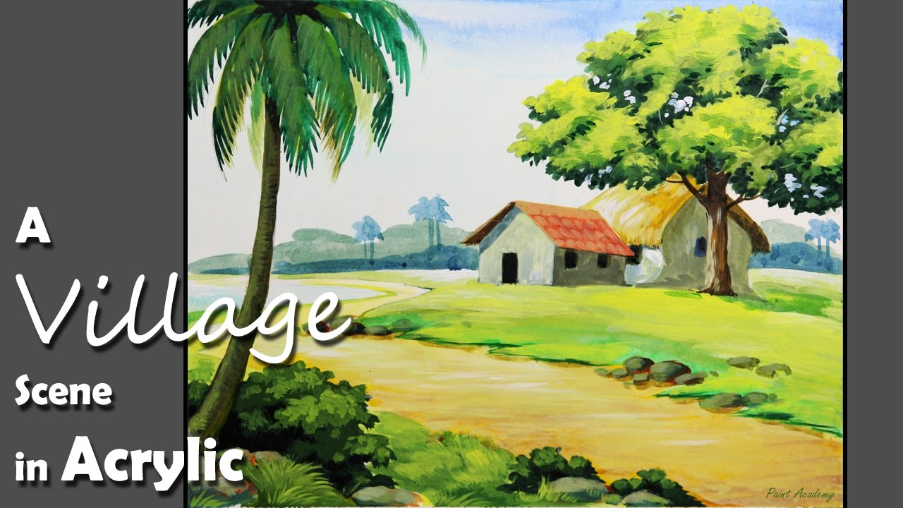How To Paint Nature Scenes Acrylic