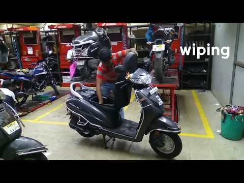 Full Service of Honda Activa 4g | The Cruel Lady | Scooter Servicing | Honda Activa 4g |