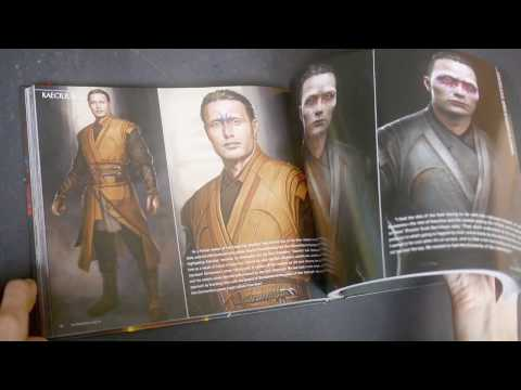 Doctor Strange: The Art of the Movie (flip-through of the book)