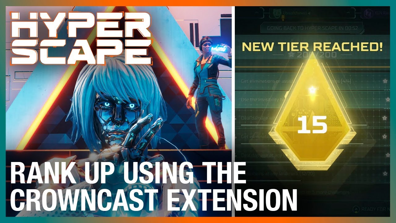 Hyper Scape: Rank Up with the Game-Changing Crowncast Extension | Ubisoft