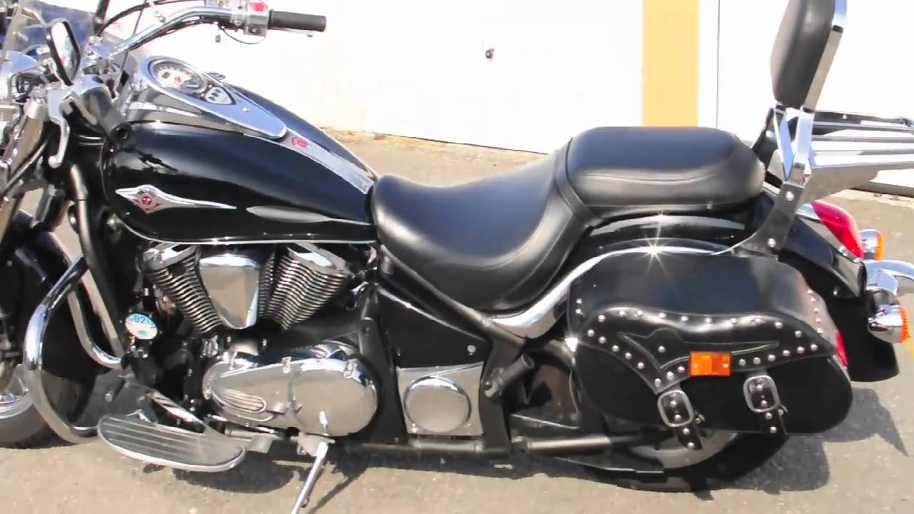 kawasaki vn900 classic ride and first impressions youtube. Black Bedroom Furniture Sets. Home Design Ideas