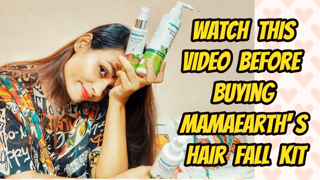 Watch This Video Before Buying Mama Earth S Anti Hair Fall Kit Not Sponsored Ll Does It Work Youtube