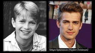 Звездные войны (Приквел) - актеры в детстве, молодости и спустя время | (Stars Wars)