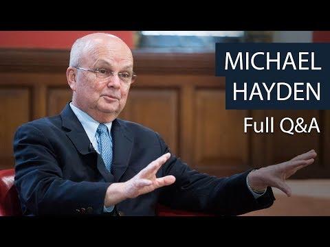 Michael Hayden | Full Q&A | Oxford Union