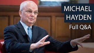 michael hayden full qa oxford union