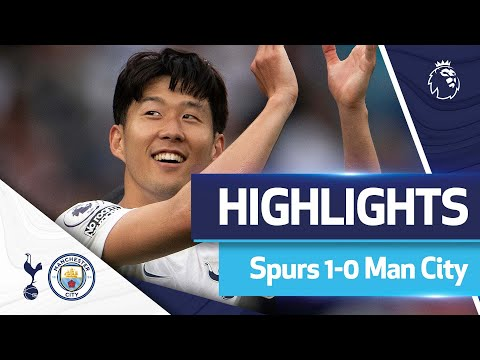 Son stunner claims opening day DELIGHT against City |  Featured |  Spurs 1-0 Man City