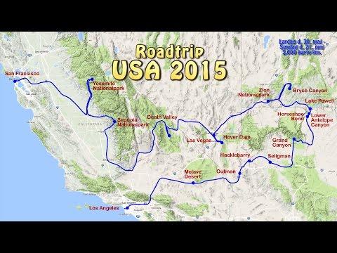 Roadtrip USA West