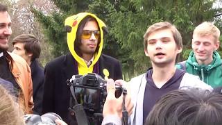 Блогер Соколовский на свободе
