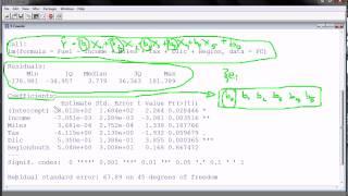 R - Multiple Regression (part 2)