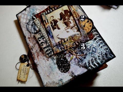 Craft Update,Junk Journal 2,Upcycling Mini Book [Deutsch,HD]