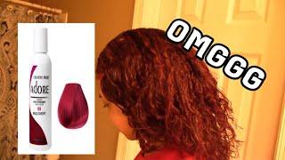 HOW I DYE MY HAIR AT HOME USING ADORE HAIR DYE!