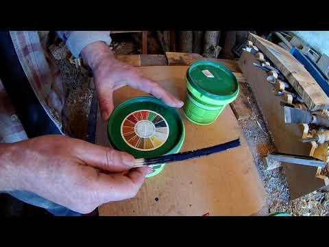 покрытие деревянных изделий акриловым лаком