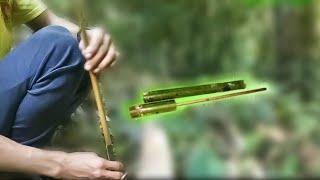 How to make a Bamboo Gun (Kahpuk)...!!