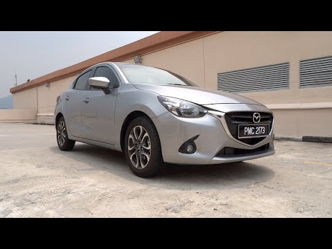2015 Mazda 2 Sedan 1.5 SkyActiv-G Start-Up and Full Vehicle Tour