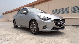 2015 Mazda 2 1.5 SkyActiv-G Sedan Start-Up and Full Vehicle Tour
